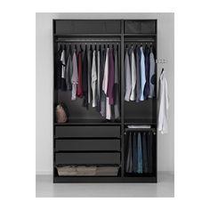 PAX Wardrobe - 150x60x236 cm, standard hinges - IKEA