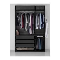 PAX Wardrobe - soft closing hinge, 150x60x236 cm - IKEA
