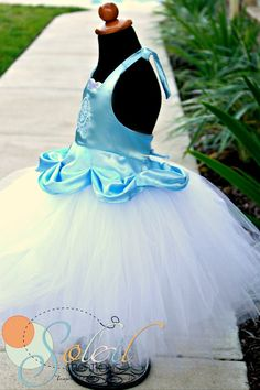 Cinderella+Birthday+Tutu+Dress+Outfit+by+SCbydesign+on+Etsy,+$64.99