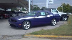 K-STATE purple car Shield's Motors Chanute Ks - There was a Plum Crazy Purple Charger at the dealer in Lawrence too :)