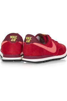 Nike | Air Pegasus 83 mesh and suede sneakers | NET-A-PORTER.COM