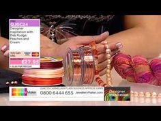 Learn How to Macramé & Make Macramé Jewellery [Tutorial]: Jewellery Maker DI 05/04/14 - http://videos.silverjewelry.be/handmade-jewelry/learn-how-to-macrame-make-macrame-jewellery-tutorial-jewellery-maker-di-050414/
