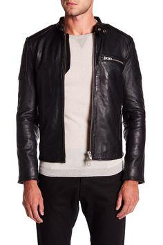 Sceptre Motor Biker Leather Jacket