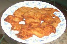 Egyptian Chicken Panne (Breaded Fried Chicken Breasts)