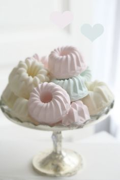 Fancy Molded Ice Cream!! These would be wonderful served with fresh berries or purée. Blueberries, raspberries..strawberries or a tangy lemon curd would make the presentation of these little treats quite spectacular.