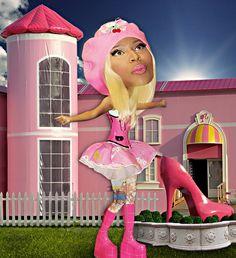 Barbie Girl Bobblehead Nicky Minaj
