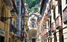 On the northwest Atlantic coast of Spain, Basque country, the beach city of San Sebastian is one of the great food capitals of Europe. Michael Kerr explores old streets lined with restaurants and tapas bars. The Places Youll Go, Places To See, Places To Travel, Bilbao, San Sebastian Spain, Destinations, Voyage Europe, Belle Villa, Cities In Europe