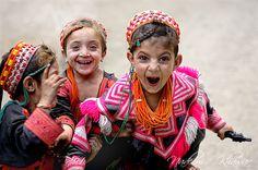 too cute! children in kalash, Pakistan