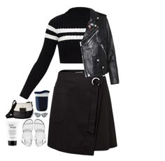 """""""WE"""" by mode-222 ❤ liked on Polyvore featuring Furla, ASOS, philosophy, Le Specs Luxe and Coach"""