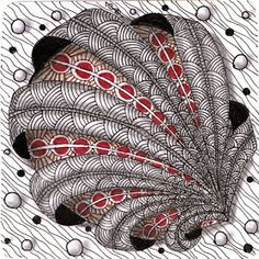 S tangles: aquafleur for string zentangle zentangle pat Doodles Zentangles, Zentangle Drawings, Zentangle Patterns, Doodle Drawings, Zantangle Art, Zen Art, Zen Doodle, Doodle Art, Sharpie Art
