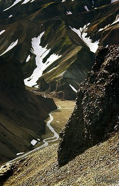 Landmannalaugar - 1968 by han-ice, via Flickr