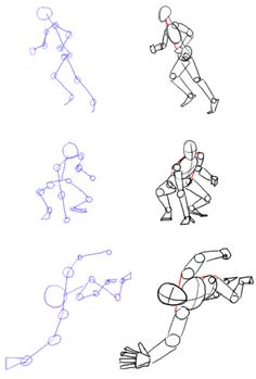 Tutorial - Figure drawing: Basic Pose and Construction