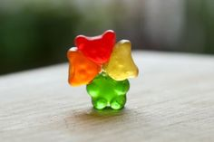 Picture of Three Gummy Bear heads are better than one
