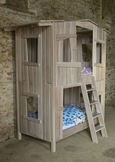 bunkbed treehouse - Google Search