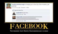 Facebook by ~Larvus91 on deviantART I'll admit it, I laughed out loud.