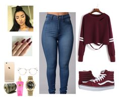 """Untitled #244"" by makedab26 ❤ liked on Polyvore featuring Rolex, RetroSuperFuture, Victoria's Secret, L.E.N.Y. and Vans"