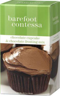 Barefoot Contessa Chocolate Cupcake
