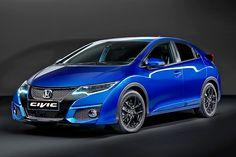 Honda hat nach zwei Jahren den Civic überarbeitet. In Paris zeigt sich der Golf-Gegner mit leicht veränderter Front und Heck, neuem Infotainmentsystem und erstmals auch in einer Sport-Variante.