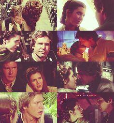 Star Wars ... Han Solo and Princess Leia