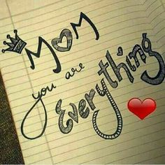 Every Mom in this world Is a reflection of Wow. I Love U Mom, Love My Parents Quotes, Dear Mom And Dad, Mom And Dad Quotes, I Love My Parents, Daughter Quotes, Mother Quotes, Daughter Love, Father Daughter