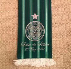 Celtic FC Lisbon Lions football scarf | eBay