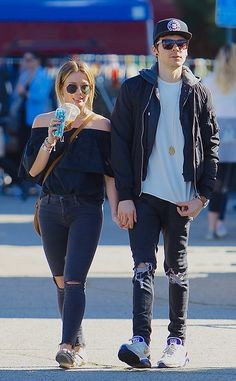 Hilary Duff & Matthew Koma from The Big Picture Lovebirds! The new couple is spotted holding hands while shopping in Hollywood.