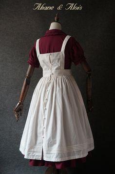 【定金】 Akane&Alois 「红发安」 后开扣罩裙 全款350元-淘宝网