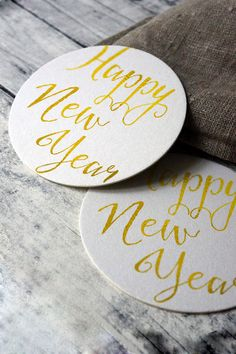 Hey, I found this really awesome Etsy listing at https://www.etsy.com/listing/211710478/holidays-happy-new-year-drink-coasters