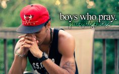 Boys who pray. Teach your children to pray in good times and bad, leaning on Him is the only way to go through life.