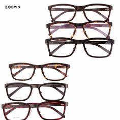 347b2ce25e11d8 ZOBWN retro Glasses Frame Men mix sale Oculos de grau masculinos Spectacle  armacao oculos Myopia Glasses Women lentes opticos