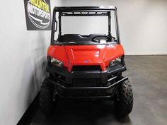 New 2017 Polaris RANGER 500 Solar Red ATVs For Sale in Tennessee. 2017 Polaris RANGER 500 Solar Red, For special internet pricing, contact Hayden at 423.839.3370 or greeneville@mtn-motorsportstn.com 2017 Polaris® RANGER® 500 Solar Red Features may include: 58 Inch Width and Excellent Utility Value Smooth and Reliable 32 HP ProStar® EFI Engine Features Best In Class Torque Plush Suspension Travel and Refined Cab Comfort for 2 Creates an Excellent Ride POWER FEATURES CLASS-LEADING TOWING…