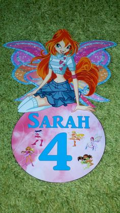 Winx Club Happy Birthday Party or Bedroom by Creative2printables.com, $9.99