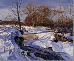 Walter Emerson Baum - The Brook Zero Painting
