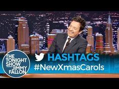 The Tonight Show Starring Jimmy Fallon: Hashtags: Jimmy Fallon Videos, Jimmy Fallon Show, Xmas Carols, Tonight Show, Late Nights, Hashtags, Comedy, Reading, News