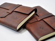 Max Latch Italian Leather Journal
