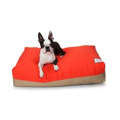 Flip Stitch Dog Bed ~ Two Looks, One Bed ~ Lay it Down, Flip it, Reverse it | Love thy Beast