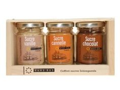 Flavoured Sugar Collection 3u 85gr. Quai Sud