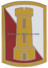 US Army combat engineer colors | US Army Combat Service Identification Badge.168th Engineer Brigade ...