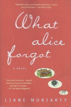 a woman, Alice, loses 10 years of her memory. She thinks she is 29, pregnant with her first child and blissfully in love with her husband. She is horrified to discover she is 39, with 3 children and in the middle of a terrible divorce. It's like the younger Alice has travelled forward in time. Readers tell me that what they liked best about this novel was how it made them think about the choices they'd made and wonder how their younger selves would feel about the lives they are leading now.