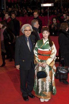ベルリン国際映画祭のレッドカーペットに山田洋次監督と黒木華が登場(C)Jean-Louis TORNATO