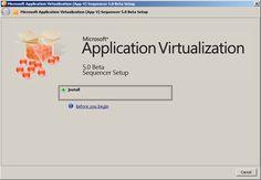 Install App-V Sequencer