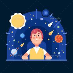 Man in the Planetarium