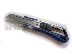 Cutter de cuchilla seccionable de 18mm con alma de acero inoxidable y cuerpo de polipropileno IRIMO 666-156-1 #herramientas #bricolaje #taller #IRIMO #jsventaonline www.jsvo.es