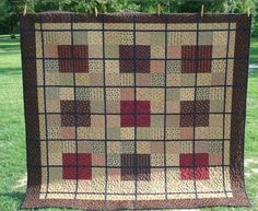 Quilt made by Calamity Jane's Cottage.
