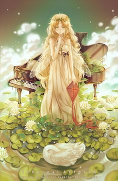 Girl art illustration anime