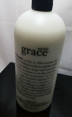 Philosophy Eternal Grace Rare Sealed Shampoo, Bath & Shower Gel 32 Oz  with pump #Philosophy