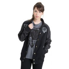 Metal Gear Solid V : The Phantom Pain ‣ Big Boss 84 Varsity Jacket (Unisex) - LVLP Europe