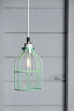 HOME | mint-cage-pendant-light