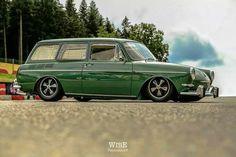 green vw squareback