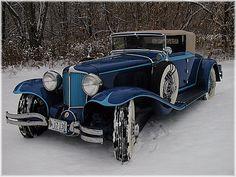 1930 Cord L-29 Cabriolet - (Auburn Automobile Company, Connersville, Indiana 1929-1937)
